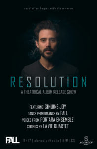 RESOLUTION - A theatrical album release show.