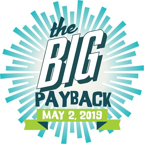 The Big Payback Logo (a 24 hour giving day in Nashville)