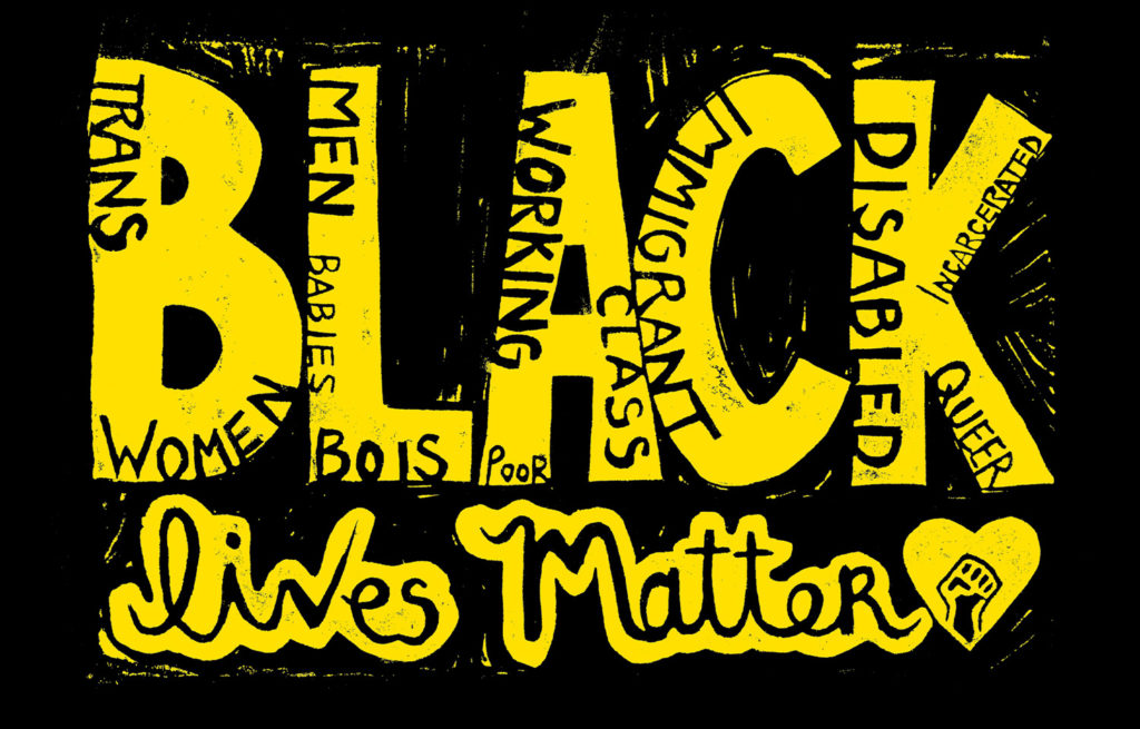 Black Lives Matter, by Matice Moore